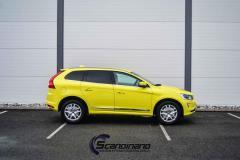 Volvo foliert med  yellow