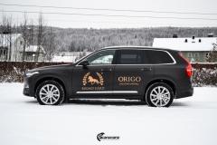 Volvo XC90 helfoliert i Brushed Black fra 3M + dekor (2 из 11)