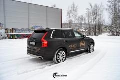 Volvo XC90 helfoliert i Brushed Black fra 3M + dekor (5 из 11)