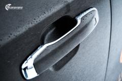 Volvo XC90 helfoliert i Brushed Black fra 3M + dekor (9 из 11)