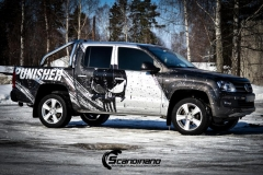 Amarok punisher custom wrap Scandinano_-12