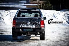 Amarok punisher custom wrap Scandinano_-5