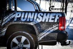 Amarok punisher custom wrap Scandinano_-8