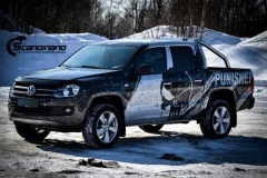 Amarok punisher custom wrap Scandinano_-9