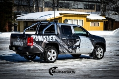 Amarok punisher custom wrap Scandinano_
