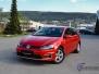 VW Golf foliering red