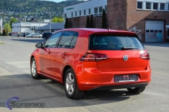 vw Golf red-11