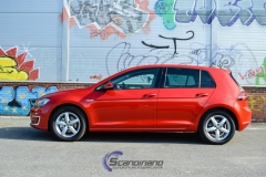 vw Golf red-8