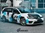 VW Golf R foliering camo design