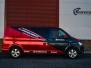 VW Transporter dekor rod krom design foliering